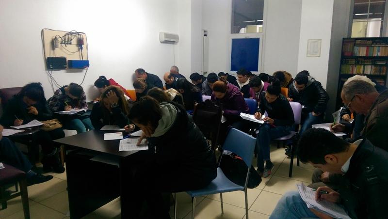 Öğrencilerimiz Deneme Sınavında