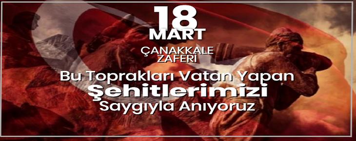 18 Mart Çanakkale Zaferi'nin 105. Yıldönümü