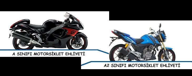 A - A2 - Motorsiklet Ehliyeti