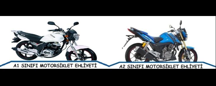 A1 - A2 - Motorsiklet Ehliyeti