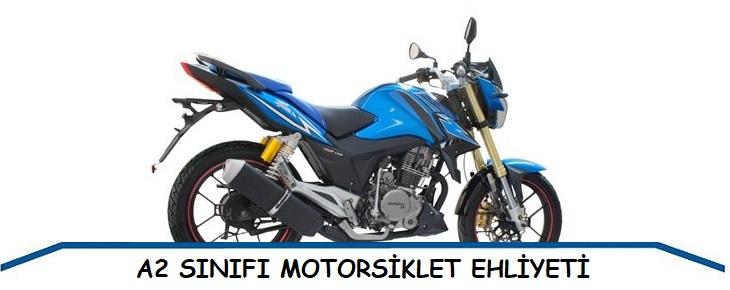 A2 - Motorsiklet Ehliyeti