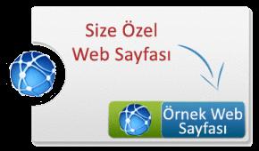 Size Özel Web Sayfası