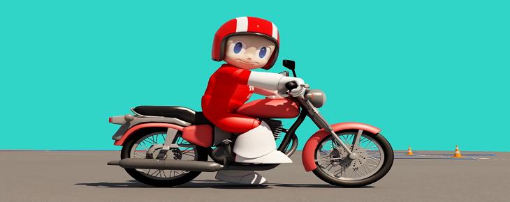 Trafik Adam Motorlu Bisiklet Ve Motosiklet Direksiyon Eğitimi Dersi Uygulama Sınavları İçin Karşınızda